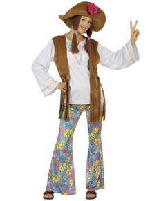 Kostium hippie Woodstock festiwal damski