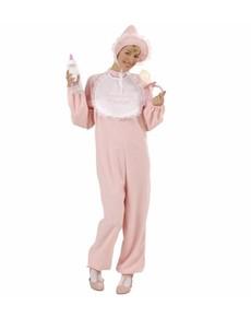 Kostium bobas różowy damski
