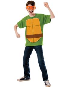 Kostium Michaelangelo Wojownicze Zólwie Ninja dla dzieci