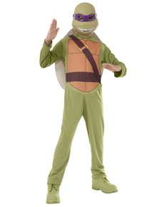 Kostium Donatello Żółwie Ninja w pudełku dla chłopca