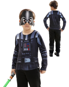 Hiperrealistyczna bluzka Darth Vader dla chłopca